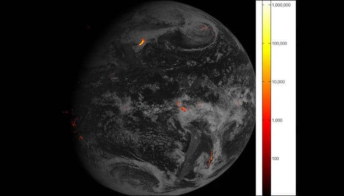 NOAA's GOES-16 weather satellite delivers 'flashy' first images from its lightning mapper!
