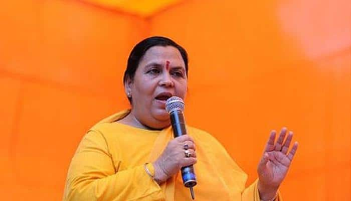 Uma Bharti dismisses speculation about becoming UP CM if BJP wins