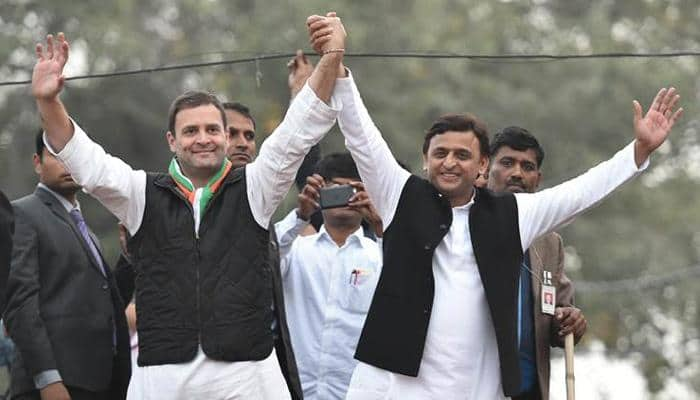 Exit polls predict BJP emerging as largest party in Uttar Pradesh, Rahul Gandhi says SP-Congress alliance will win