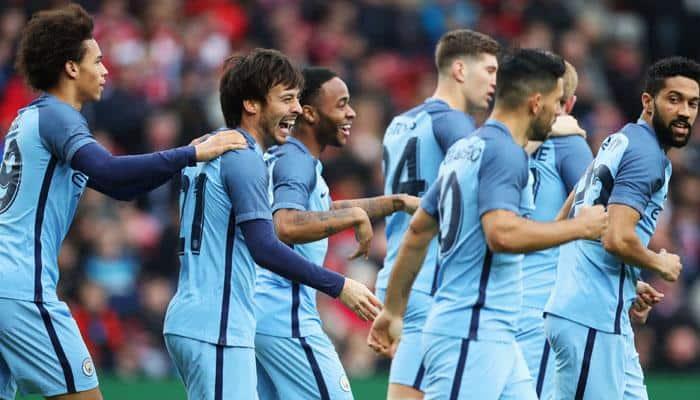 FA Cup: David Silva, Sergio Aguero goals take Manchester City to semi-finals