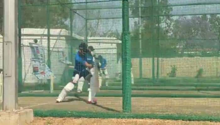 WATCH: Virat Kohli and co sweating it out hard in practice nets ahead of Ranchi Test