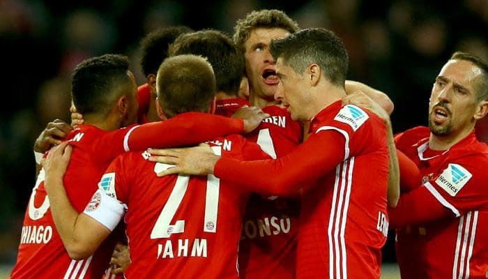 Bundesliga: Bayern Munich now 13 points clear as Thomas Mueller caps milestone