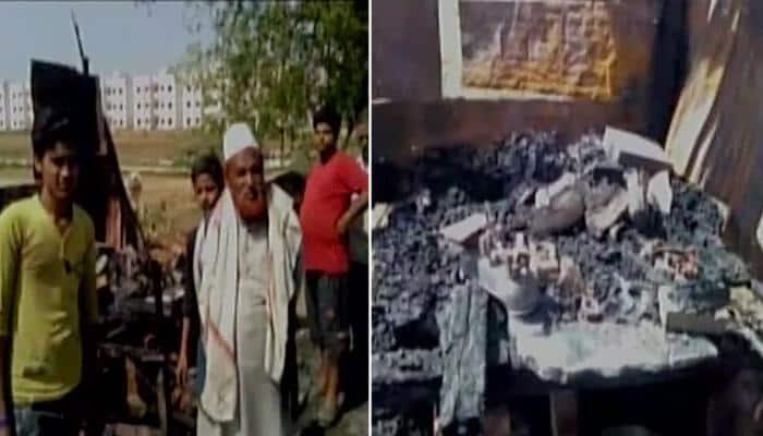 Uttar Pradesh: Three meat shops set on fire in Hathras, cops blame anti-social elements; FIR registered