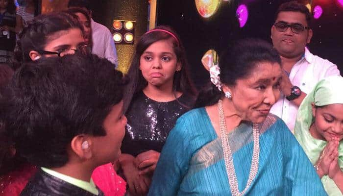 Asha Bhosle donates Rs 25k to 'Sa Re Ga Ma Pa Lil Champs' contestants