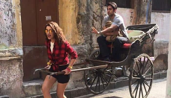 Meri Pyaari Bindu FIRST LOOK out! Parineeti Chopra and Ayushmann Khurrana set for a quirky tale