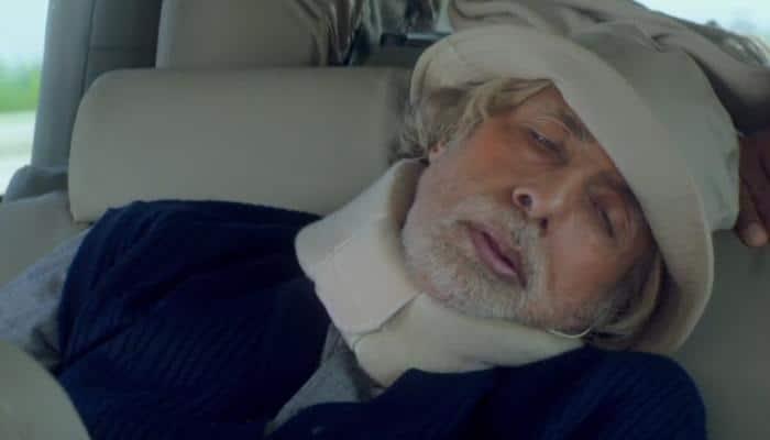 Amitabh Bachchan neck injury: A bit stiff but all well, says Big B