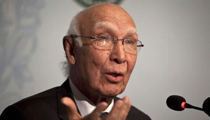 Nawaz Sharif's advisor Sartaj Aziz urges UK to strengthen trade ties with Pakistan