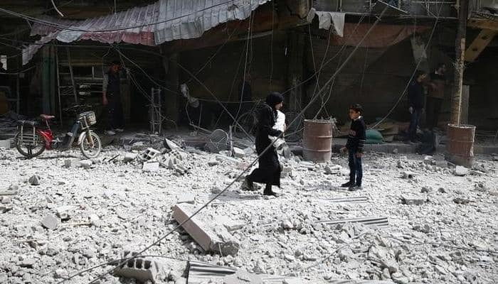 Syria chemical attack victims gassed as they slept