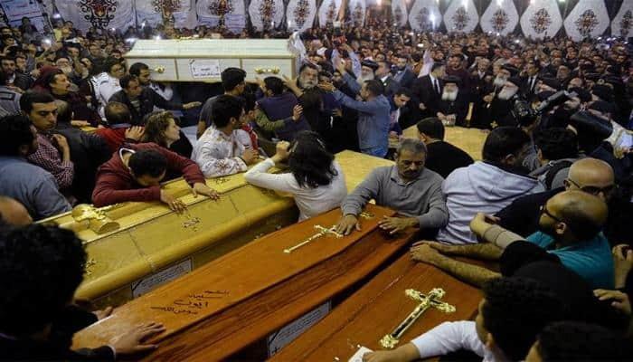 Palm Sunday bombings of Egyptian Coptic churches kill 44