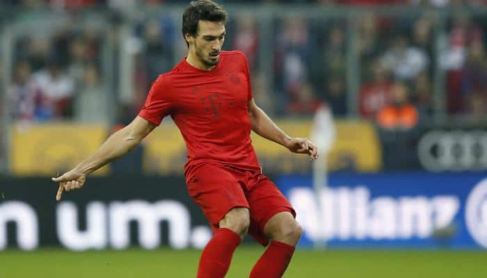 Champions League quarters: Injured Mats Hummels out of Bayern Munich's clash with Real Madrid at home