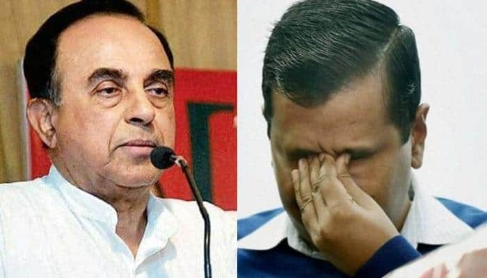 BJP MP Subramanian Swamy taunts 'universal fraud' Arvind Kejriwal over BJP's Rajouri Garden bypoll victory