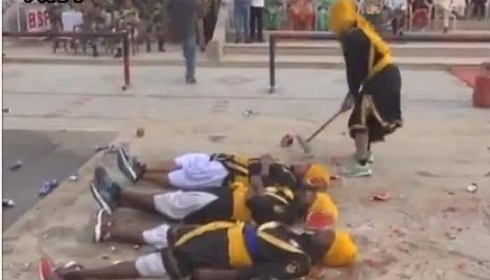 Unbelievable Baisakhi celebrations at Wagah Border – Watch video