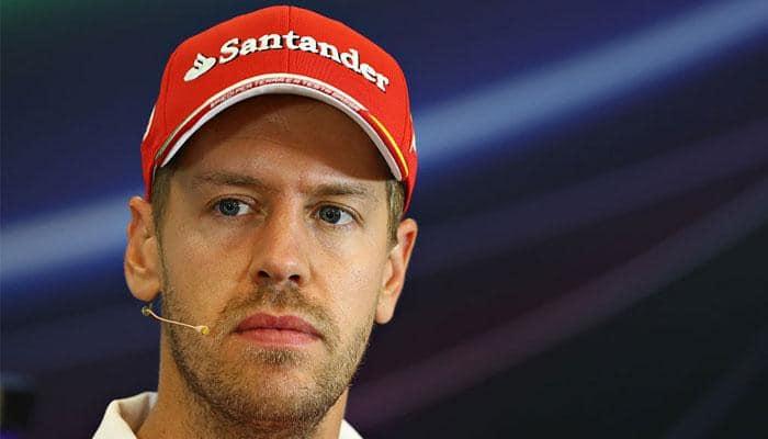 Formula One driver Sebastian Vettel's Ferrari loses power and 'shut down'