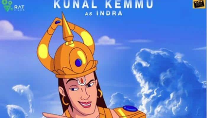 Kunal Kemmu plays Indra in 'Hanuman Da Damdaar'