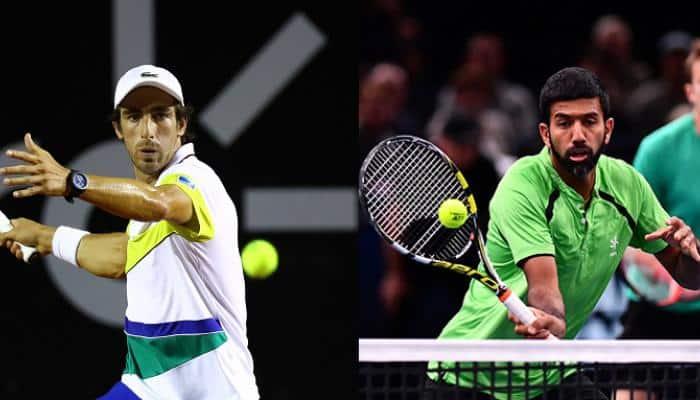 Monte Carlo Masters: Rohan Bopanna, Pablo Cuevas move to quarter-finals after three-set battle