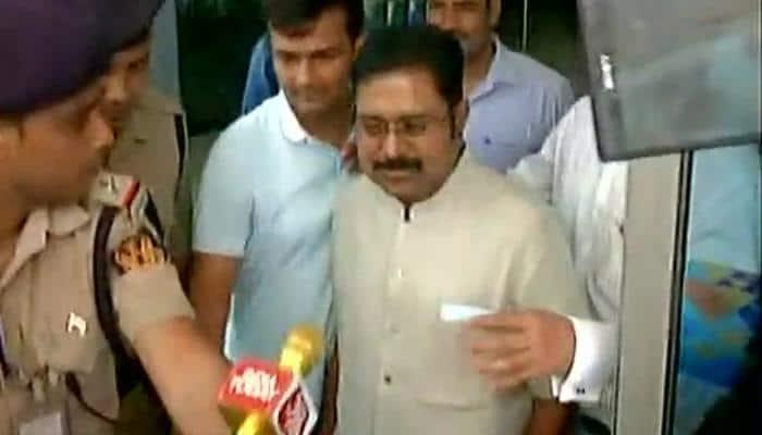 EC bribery case: AIADMK's TTV Dinakaran appears before Delhi Police