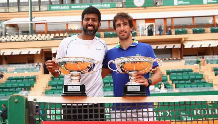 Monte Carlo Masters: Rohan Bopanna-Pablo Cuevas pair wins men's doubles crown