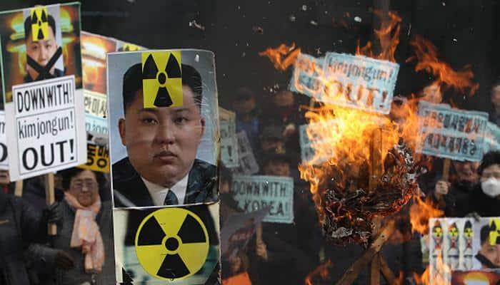 "Donald Trump says ""major, major"" conflict with North Korea possible"