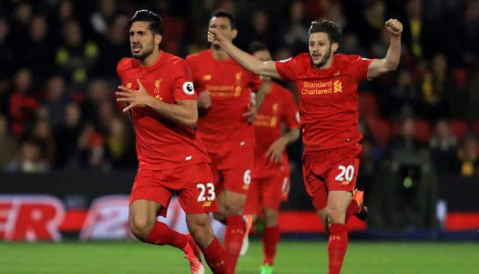 Premier League: Emre Can's incredible goal tightens Liverpool's hold on third