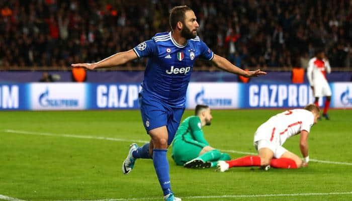 UEFA Champions League: Juventus close on final as Gonzalo Higuain's double strike hurts Monaco