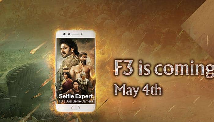 Oppo F3 Selfie smartphone to be launched in India today