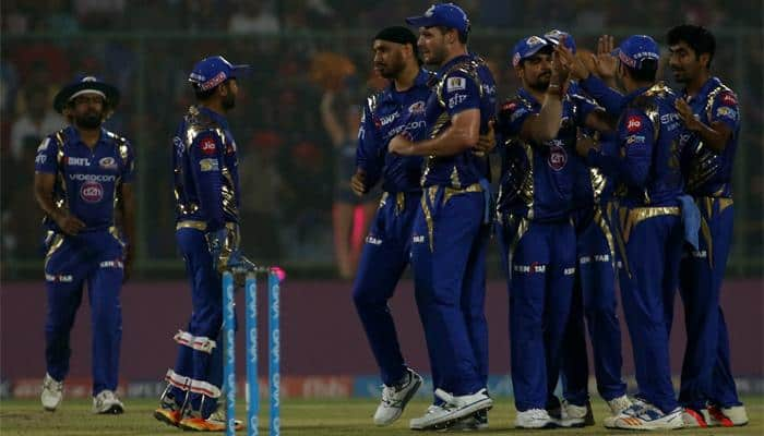 IPL 2017, Match 45:  Mumbai Indians humble Delhi Daredevils by mammoth 146 runs; qualify for play-offs