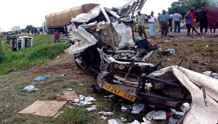 Tanzania bus crash kills 34