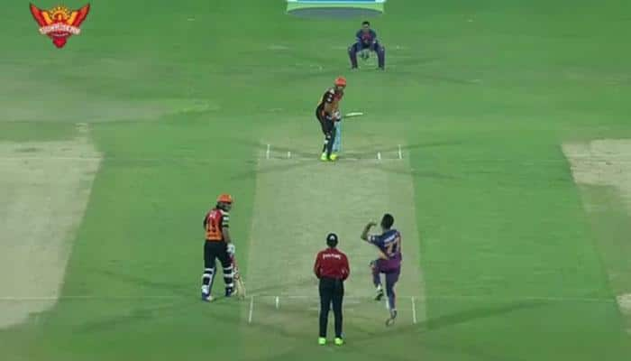 WATCH: Jaydev Unadkat scalps hat-trick against Sunrisers Hyderabad, in the over when it mattered most