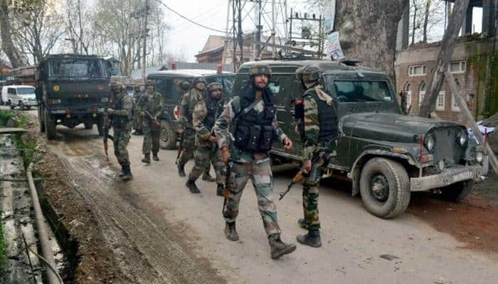 In grim reminder of J&K situation, militants give gun salute to slain associate at funeral