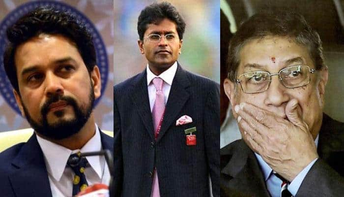 After leaking MS Dhoni's India Cements' offer letter, Lalit Modi takes on N Srinivasan and Anurag Thakur