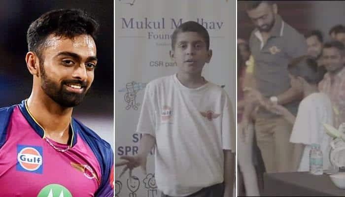WATCH: Jaydev Unadkat reveals 12-year-old's hand in his IPL hat-trick feat