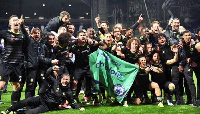 Chelsea lift Premier League title in Antonio Conte's maiden season, now eye 'record' wins tally