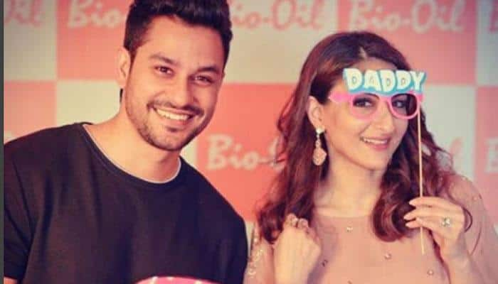 'Yummy Mummy' Soha Ali Khan and hubby Kunal Kemmu look adorable in their recent pictures!