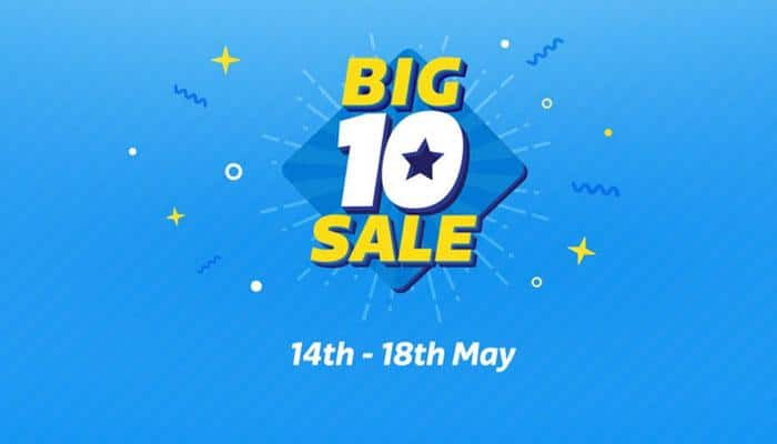 Flipkart to hold 'Big 10' sale tomorrow; lakhs of products on offer