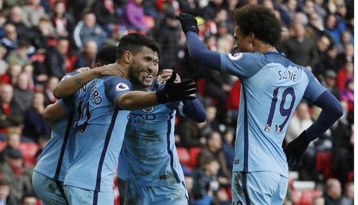 EPL Saturday Report: Riyad Mahrez slip spares Manchester City, Swansea close on safety
