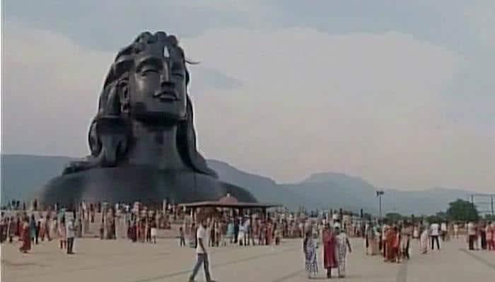Coimbatore: 112 feet tall 'Adiyogi' Lord Shiva statue enters Guinness Books of World Records