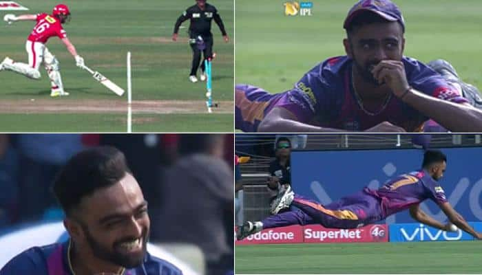 WATCH: Birth of a showman! Jaydev Unadkat steals the thunder with a complete performance in Pune