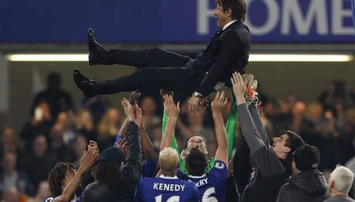 Premier League: Cesc Fabregas foils Watford in Chelsea title party