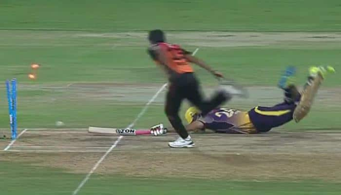 WATCH: Bhuvneshwar Kumar's magical over which almost sealed the deal for Hyderabad against Kolkata in IPL Eliminator