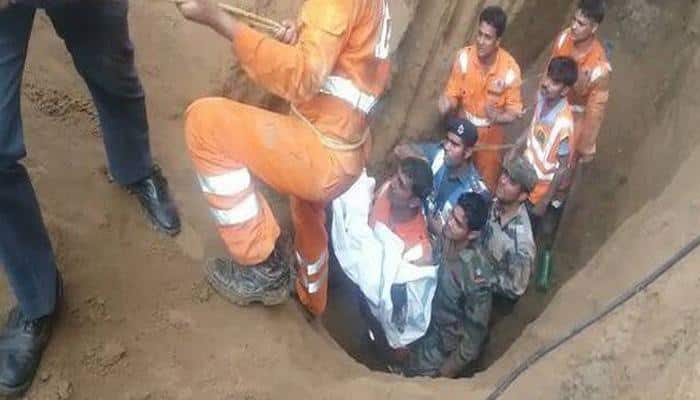 Five-year-old dies after being rescued from borewell in Madhya Pradesh