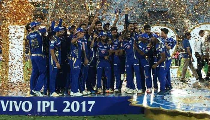 IPL 2017 Final: Mumbai Indians defeat Rising Pune Supergiant by one run in last-ball thriller; win record third title