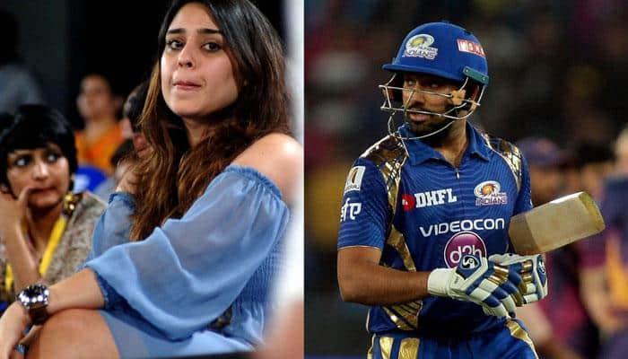 WATCH: Shardul Thakur's brilliant catch to dismiss Rohit Sharma leaves Mrs Sharma bemused