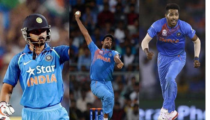 ICC Champions Trophy 2017: A chance for Jasprit Bumrah, Hardik Pandya, Kedar Jadhav to shine on world stage