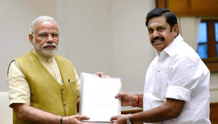Tamil Nadu CM invites PM Narendra Modi for Jaya, MGR functions