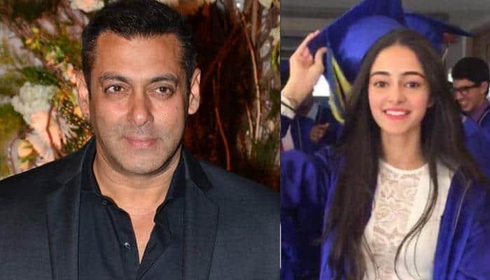 Salman Khan to launch Chunky Panday's daughter Ananya?