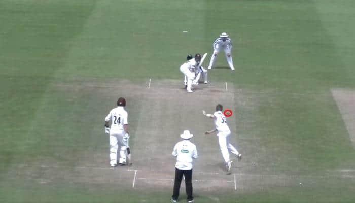 WATCH: Mason Crane stuns South African Dean Elgar with Shane Warne-esque spin in county cricket