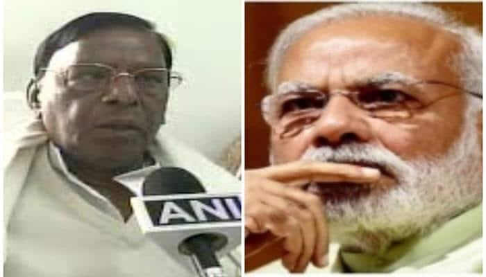 PM Narendra Modi wishes Puducherry CM Narayanasamy on 70th birthday