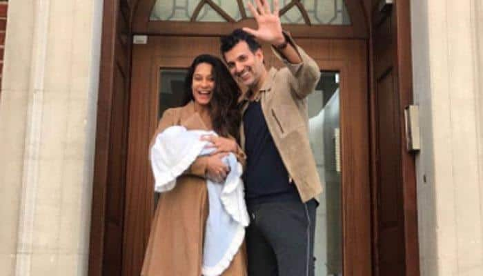 Lisa Haydon shares first photo of son Zack Lalvani and it's awwdorable!