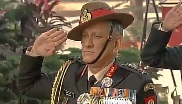 Army Chief Bipin Rawat reviews security in LoC