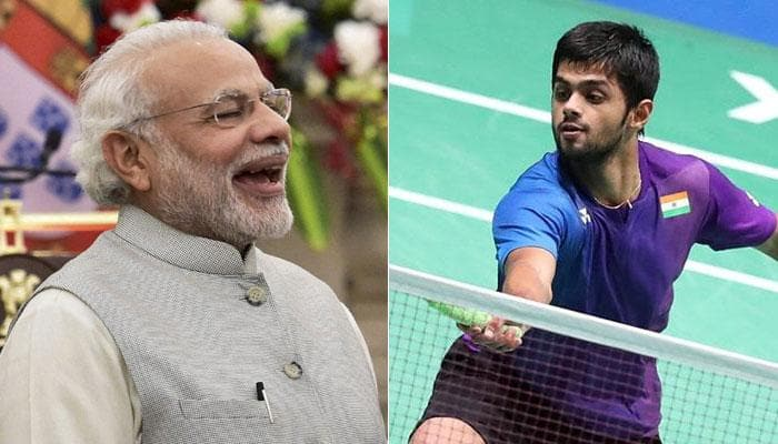 Thailand Open: PM Narendra Modi congratulates B Sai Praneeth for maiden Grand Prix Gold triumph